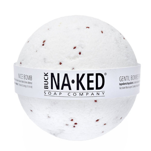 Buck Naked Soap Co. - Nice Holiday Bath Bomb