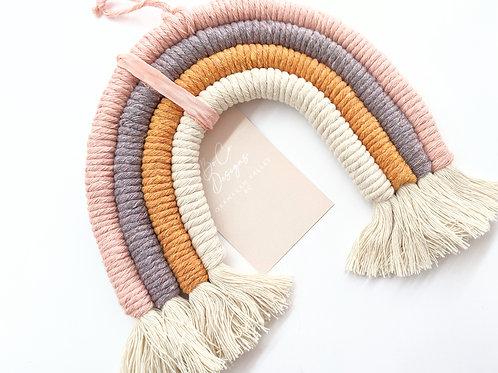 Designs By Boco - Large Macrame Rainbow