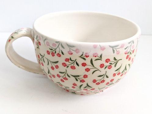 Mowbray Pottery - Floral Mug