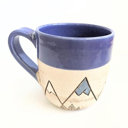Restless Winds - Blue Mountain Mug