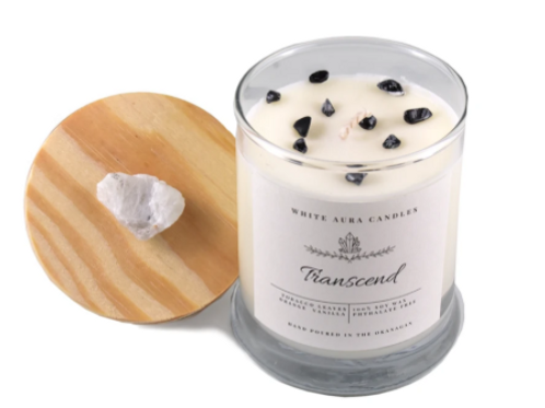 White Aura Candles - Transcend Candle