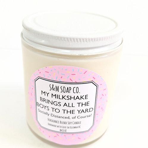 SM Soap Co. - My Milkshake Candle