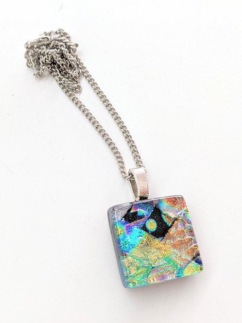 Sheryl Blois Glass - Glass Dicro Necklace