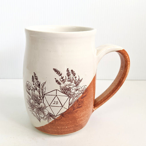 Tiny Cat Pottery - D20 Mug