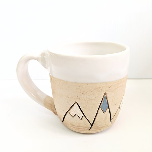 Restless Winds - White Mountain Mug