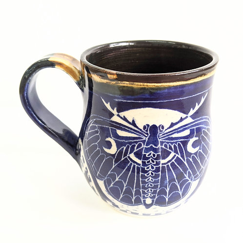 Paulina Beads - Moon Moth Mug