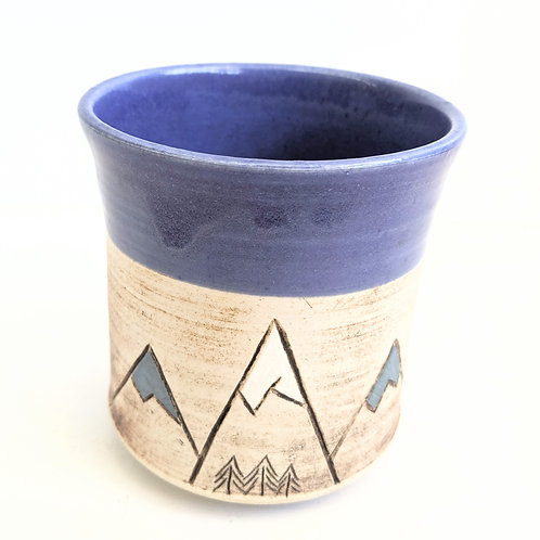 Restless Winds Pottery - Blue Mountain Tumbler