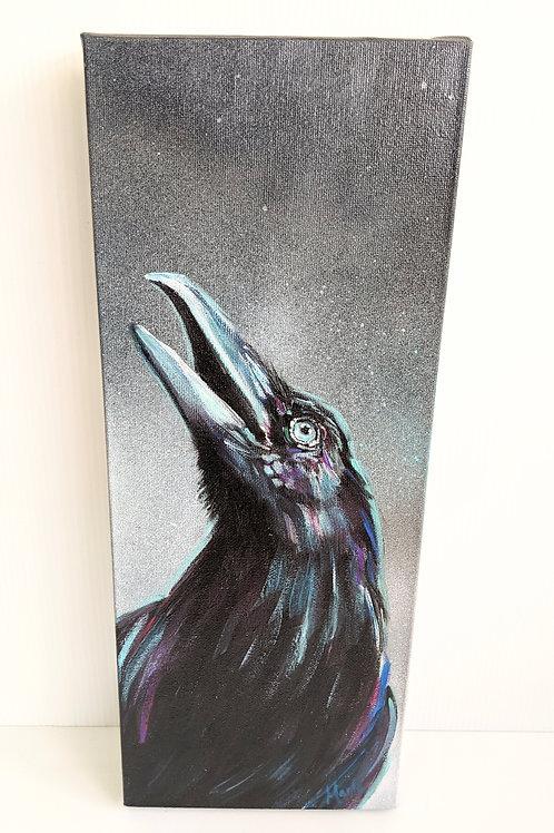 Art By Marla - Raven Arrow Painting