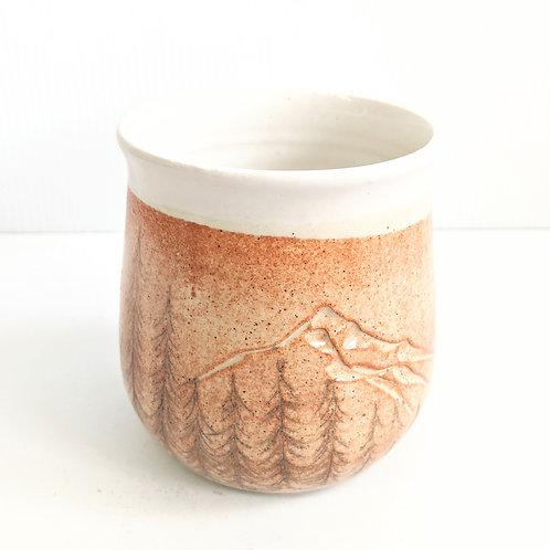 Tiny Cat Pottery - Cinnamon Okanagan Tumbler