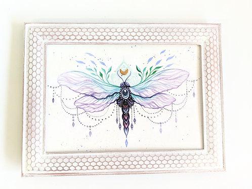 Phresha - Mixed Media Dragonfly