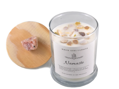 White Aura Candles - Namaste Candle