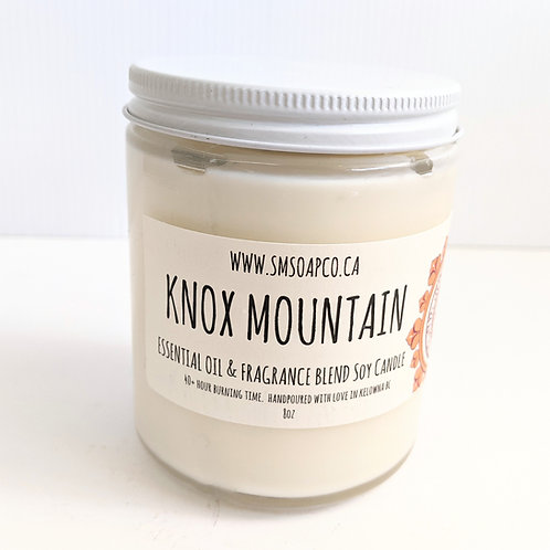 SM Soap Co. - Knox Mountain Candle
