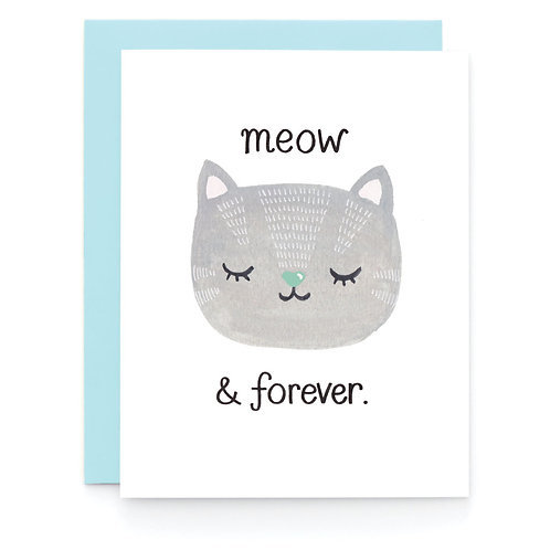 Art + Soul Creative Co. - Meow & Forever Card