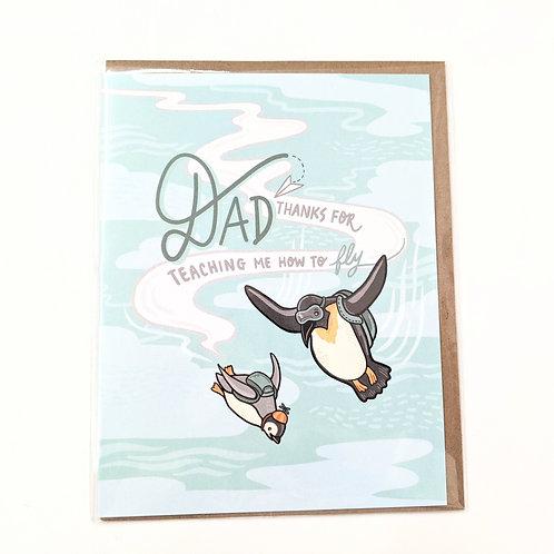 Art + Soul Creative Co. - 'Teach Me to Fly' Card