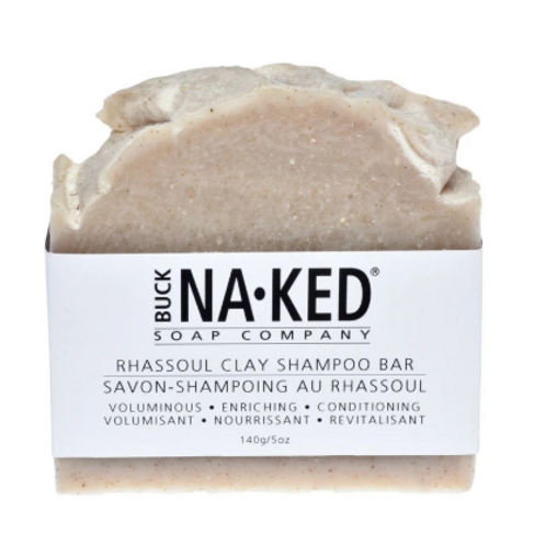 Buck Naked Soap Co. - Rhassoul Shampoo Bar