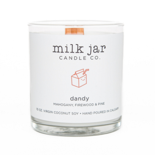 Milk Jar Candle Co. - Dandy Candle