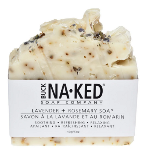 Buck Naked Soap Co. - Lavender & Rosemary Soap