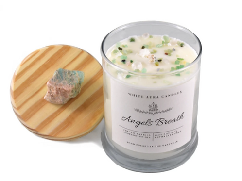 White Aura Candles - Angel's Breath Candle