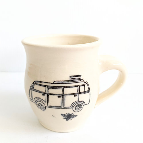 Nancy Blokland Pottery - Camper Bee Mug