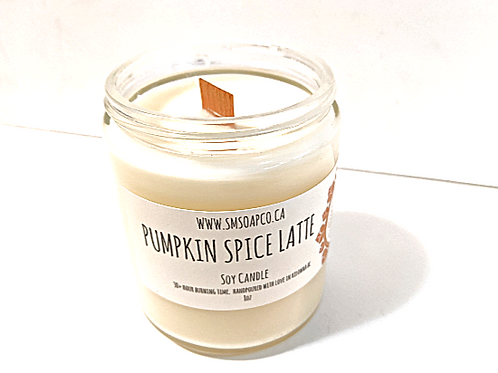 SM Soap Co. - Pumpkin Spice Latte Soy Candle