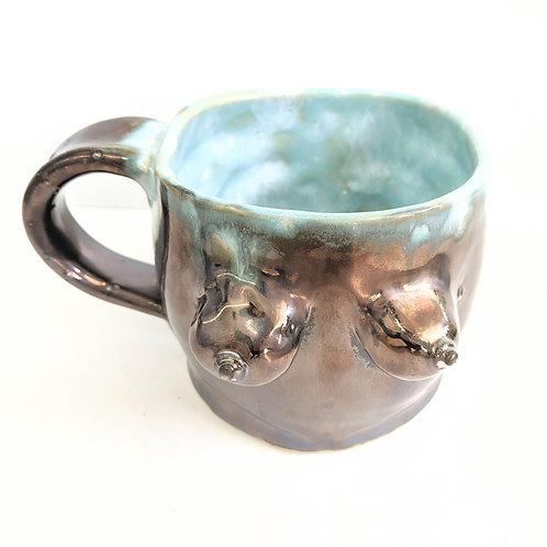Sheramic - Metallic Midnight Lady Mug