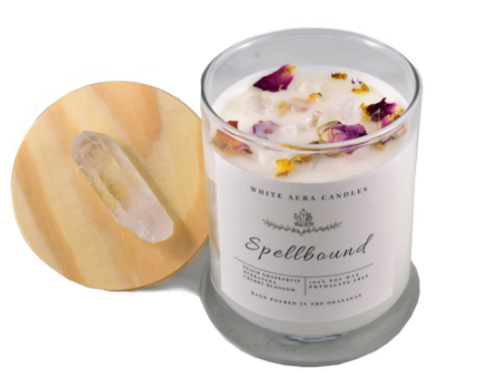 White Aura Candles - Spellbound Candle