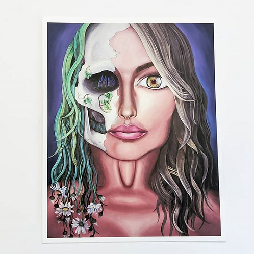 Angela McArthur - 'Self Portrait' Art Print