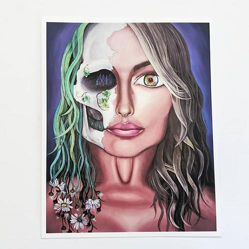 Angela McArthur - 'Self Portrait' Art Print