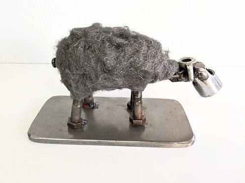 Wingnut Whimsy - Sheep Sculpture