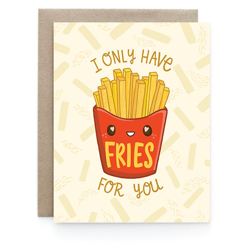 Art + Soul Creative Co. - Fries For You Card