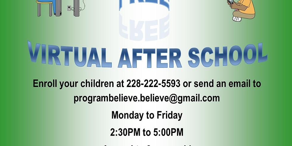 Virtual After School Assistance: Program Believe