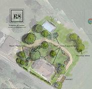plan de jardin, paysagiste, projet jardin, creation de jardin