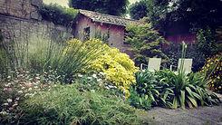 agapanthe, erable du japon, jardins originaux, jardins écologiques 64