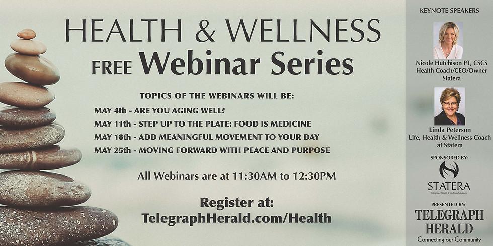 TH Health & Wellness Free Webinar Series