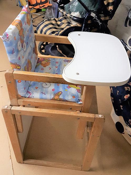 Chaise d'enfant avec table - chaise haute