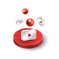 —Pngtree—3d illustration youtube round icons_5861138.png