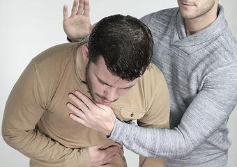 First Aid Choking