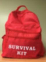 Earthquake Preparedness Backpack