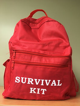 Earthquake Preparedness Backpack