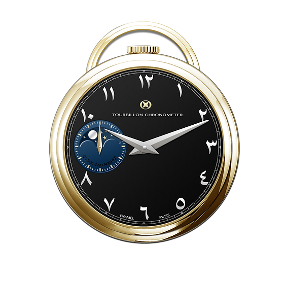 Pocket watch design