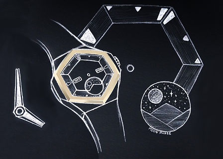 Watch design sketch