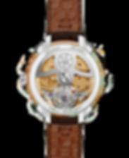 Tourbillon watch design