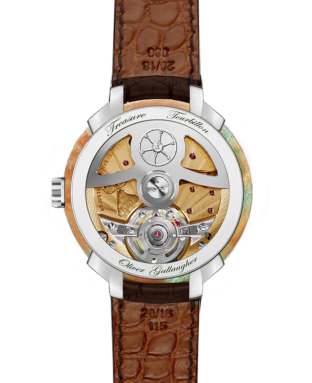 Tourbillon watch design