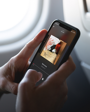 In Airplane With iPhone X Mockup.png