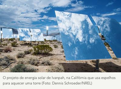 Lei na Califórnia prevê emissão zero de carbono na eletricidade até 2045