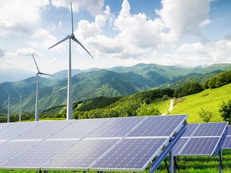 Mudar para energia solar e eólica reduzirá o uso de água subterrânea