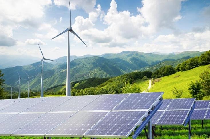 Energia fotovoltaica e eólica