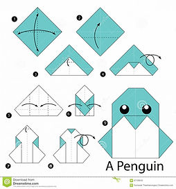 pingouin origami.jfif