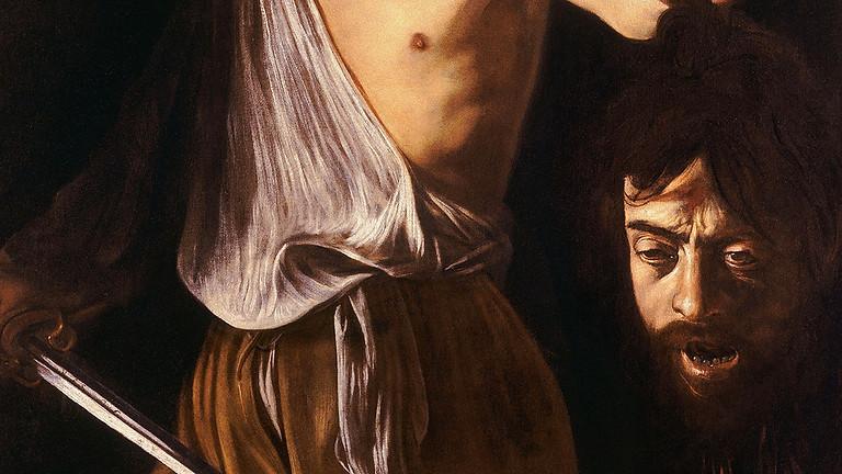 Caravaggio in bilico tra peccato e redenzione