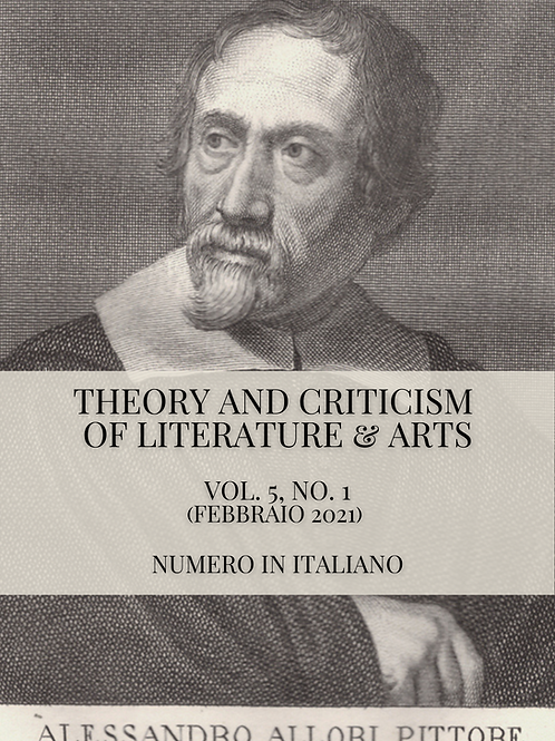 Theory and Criticism of Literature & Arts Vol 5, N.1., 2021